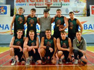 Команда Бердск-1 на НБА сезон 2013-14
