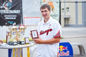 Лучший снайпер новосибирского этапа чемпионата россии по стритболу